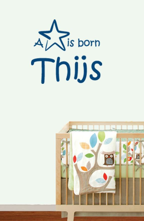 geboortesticker